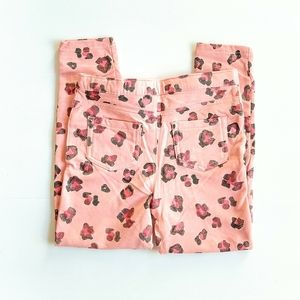 Other - Pink Animal Print Jeggings